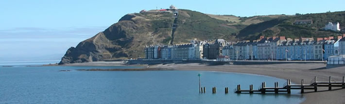 the cliff railway on constitution hill in aberystwyth